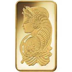 Investiční zlatý slitek PAMP Fortuna 10 Oz